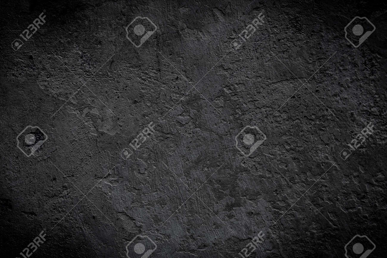 black texture can be used for background - 34272395