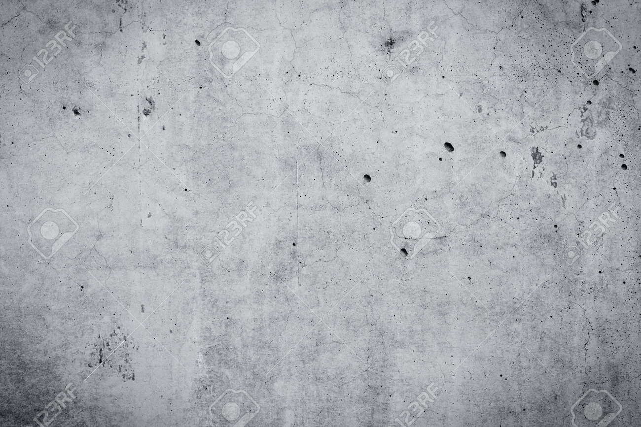 Grungy and smooth concrete wall for background - 37678279