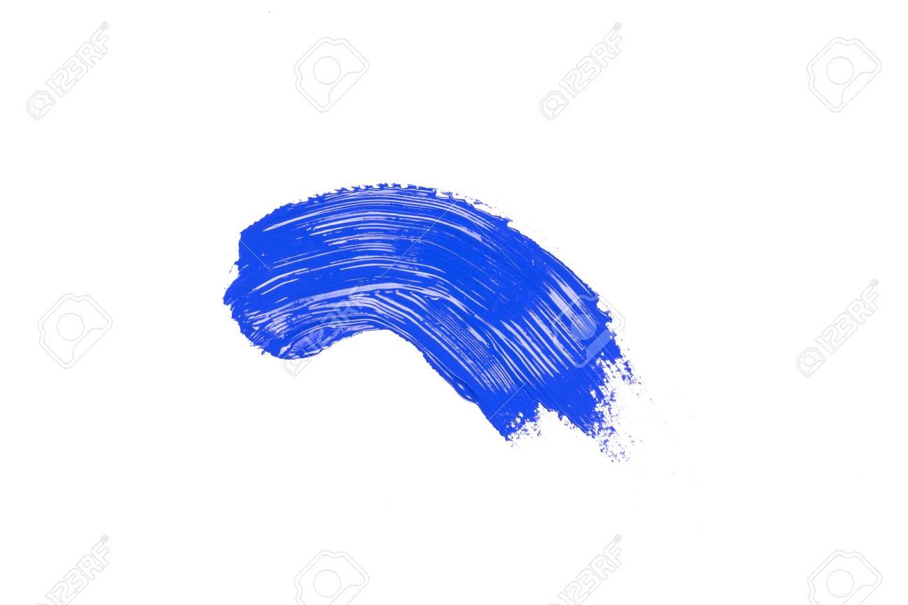 Strich blauer Blauer Strich