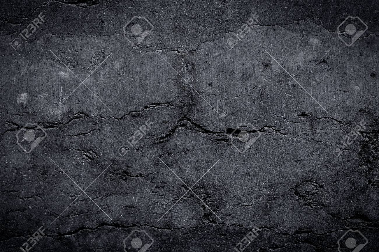 Grungy and smooth stone wall for background - 49578226
