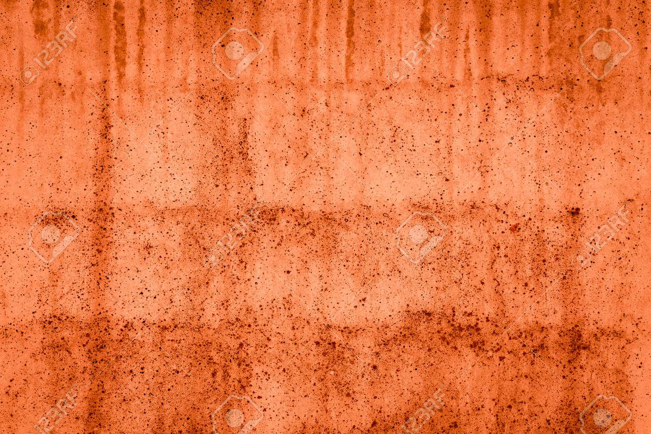 Immagini Stock Semplice Sfondo Rosso Muro Di Cemento Con Texture