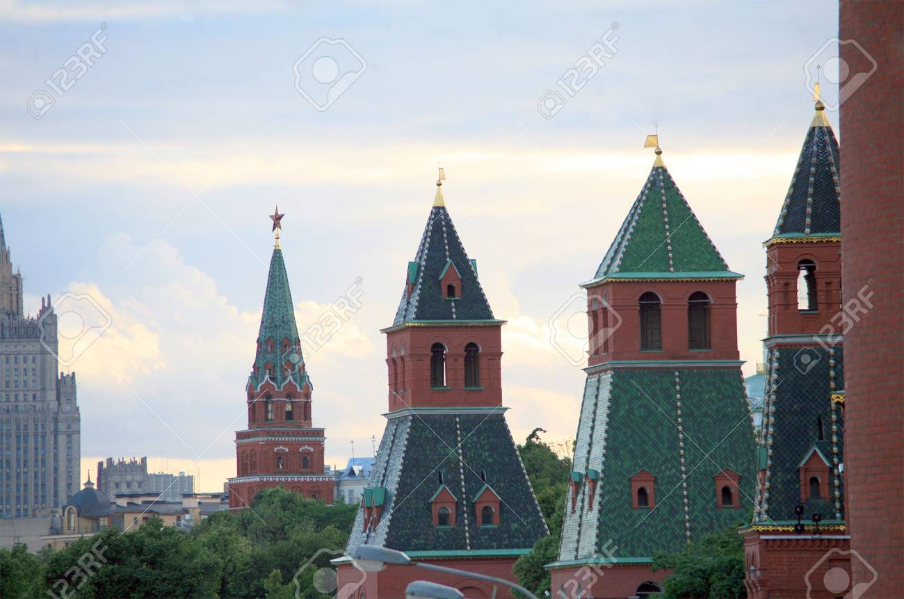 old kremlin towers in moscow Stock Photo - 3621218