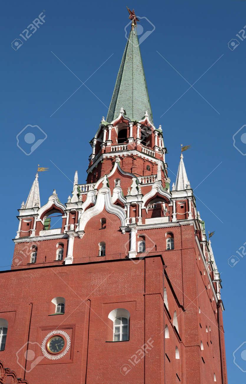 Kremlin tower on sky background in city center Stock Photo - 5999735