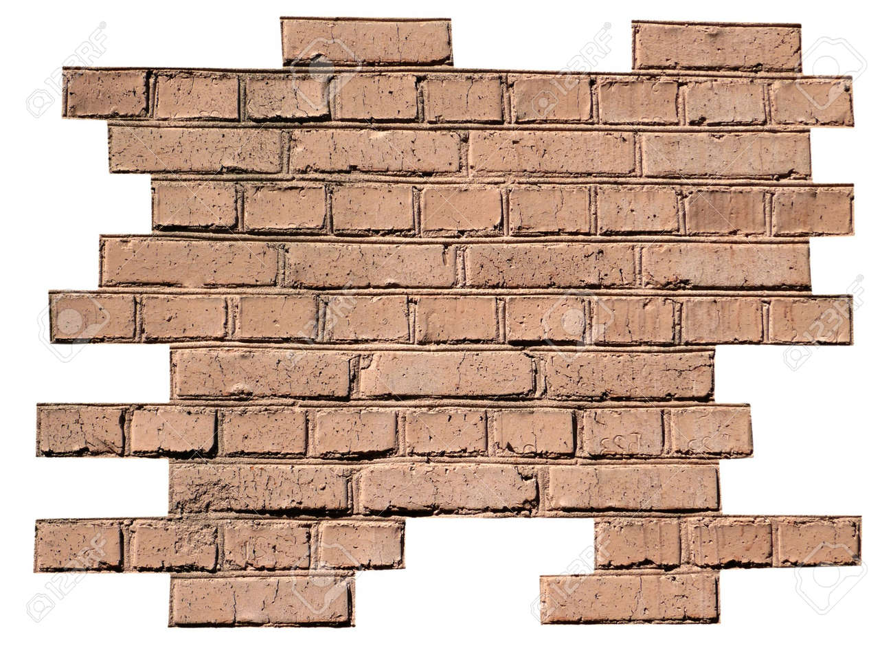 red brick wall background at day Stock Photo - 6992927