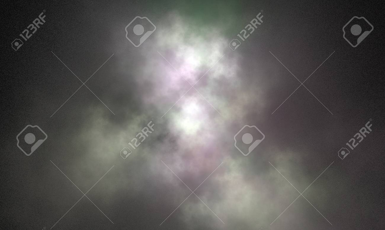 abstract fractal on black Stock Photo - 10050900