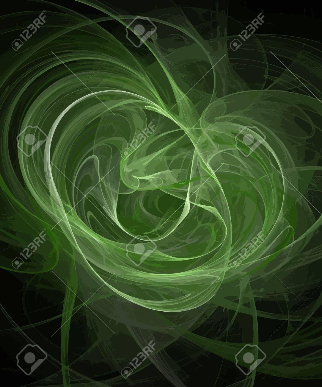 Vector Illustration of digital fractal Stock Vector - 10050839