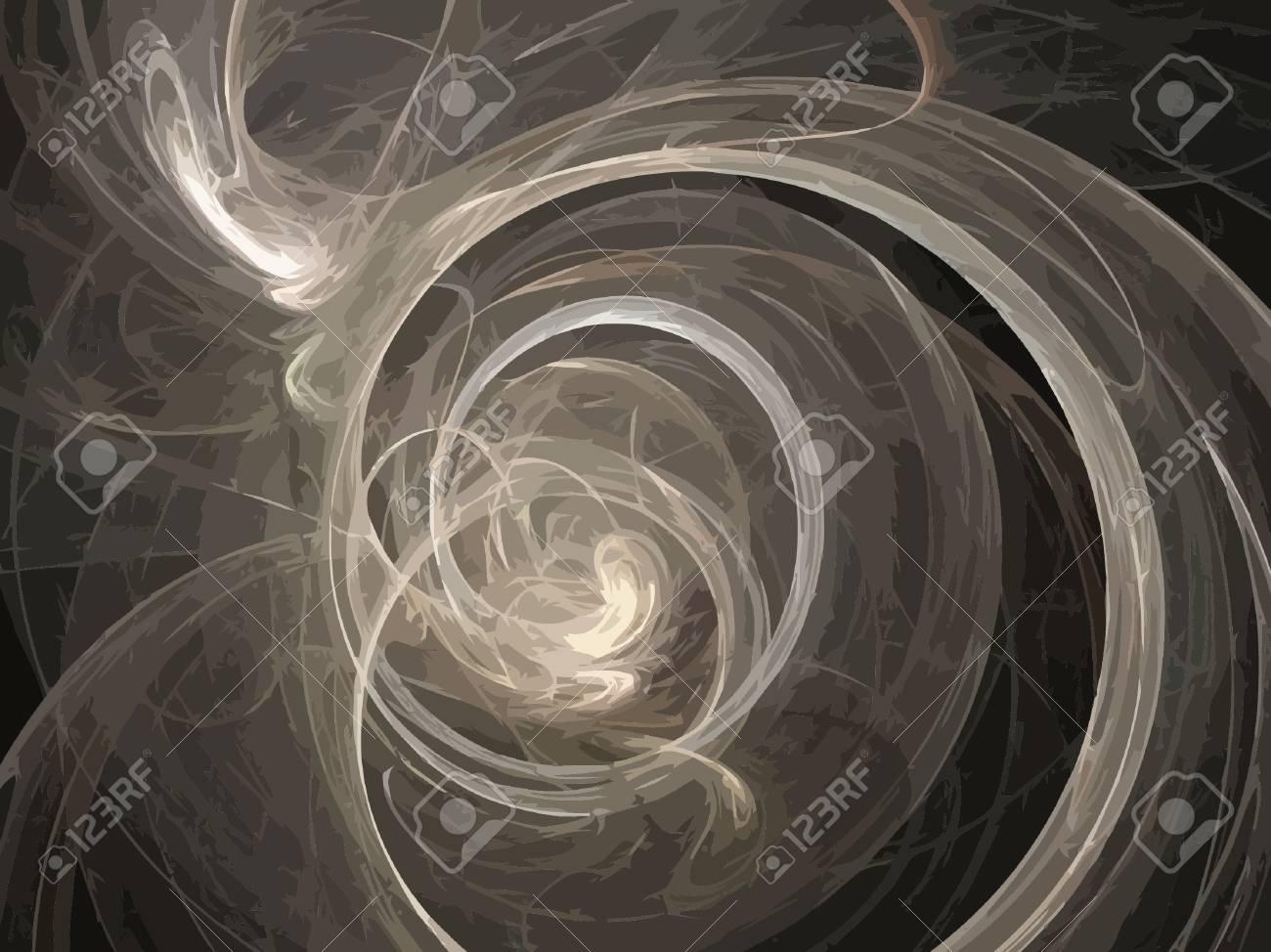Vector Illustration of digital fractal Stock Vector - 13170772