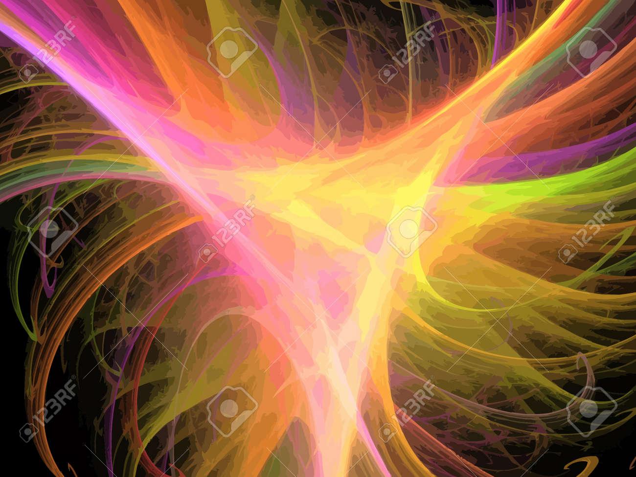 Vector Illustration of digital fractal Stock Vector - 13891611
