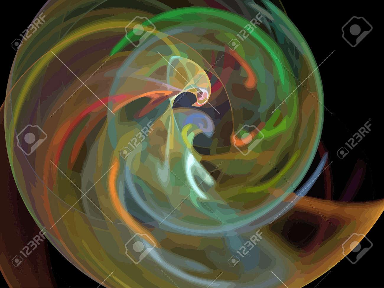 Vector Illustration of digital fractal Stock Vector - 21192533