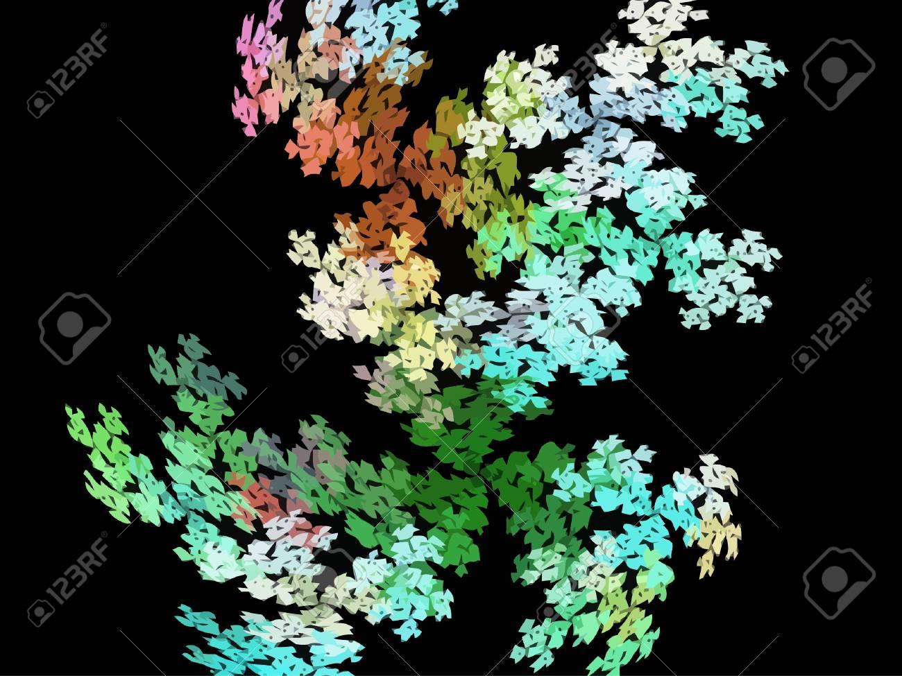 Vector Illustration of digital fractal Stock Vector - 25185787