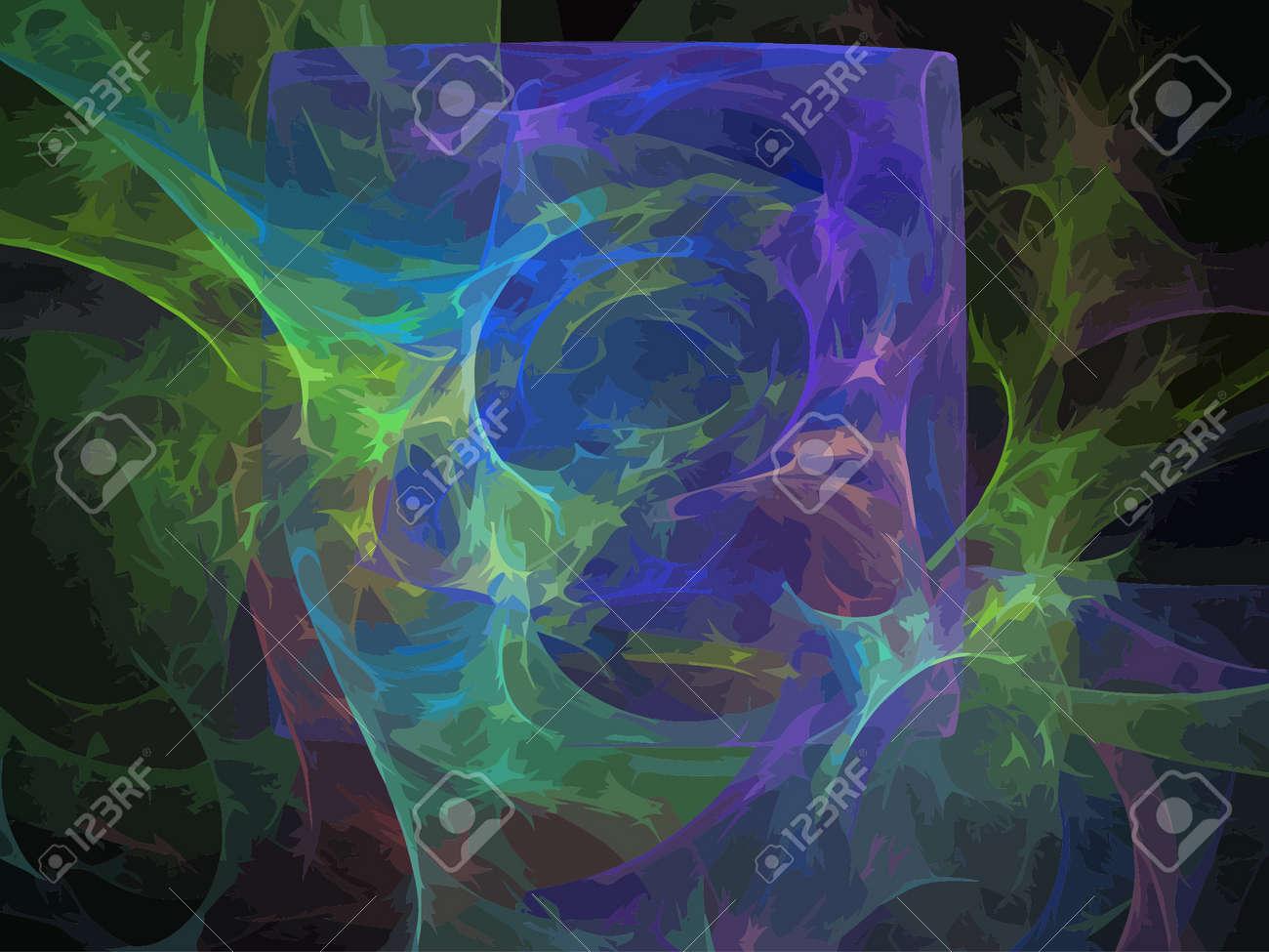 Vector Illustration of digital fractal Stock Vector - 26656848