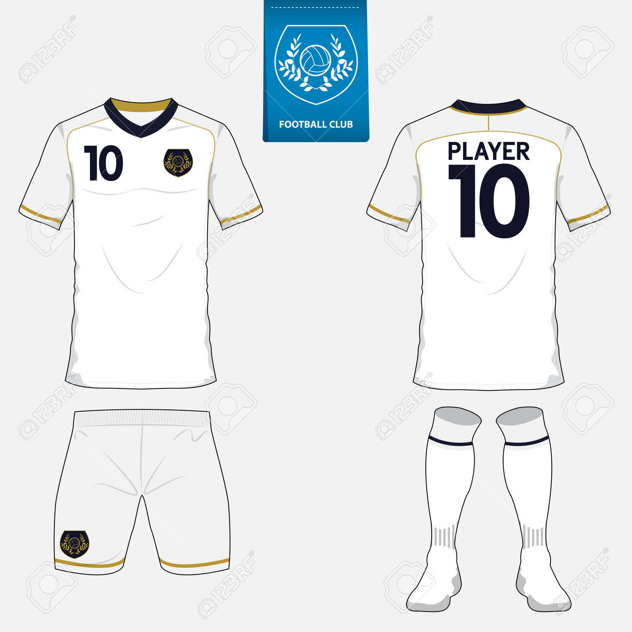 photo relating to Football Jersey Template Printable referred to as Blank Soccer Shirts Template AzÉ™rbaycan DillÉ™r Universiteti