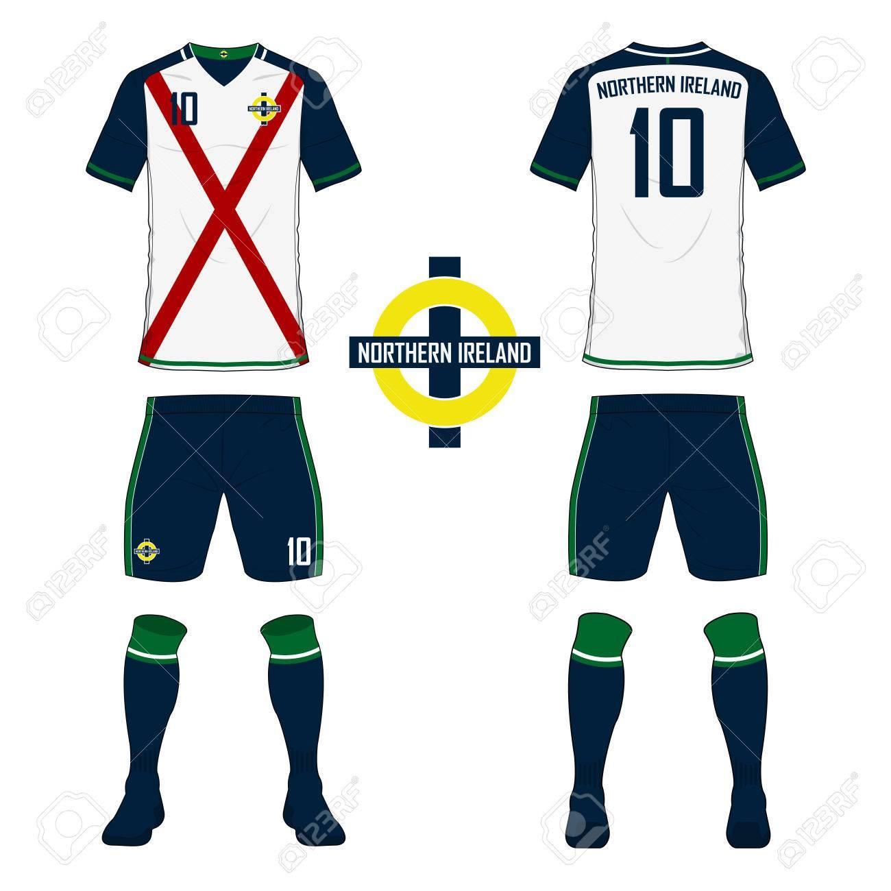ensemble de maillot de foot ou un kit de football mod le pour l rh fr 123rf com