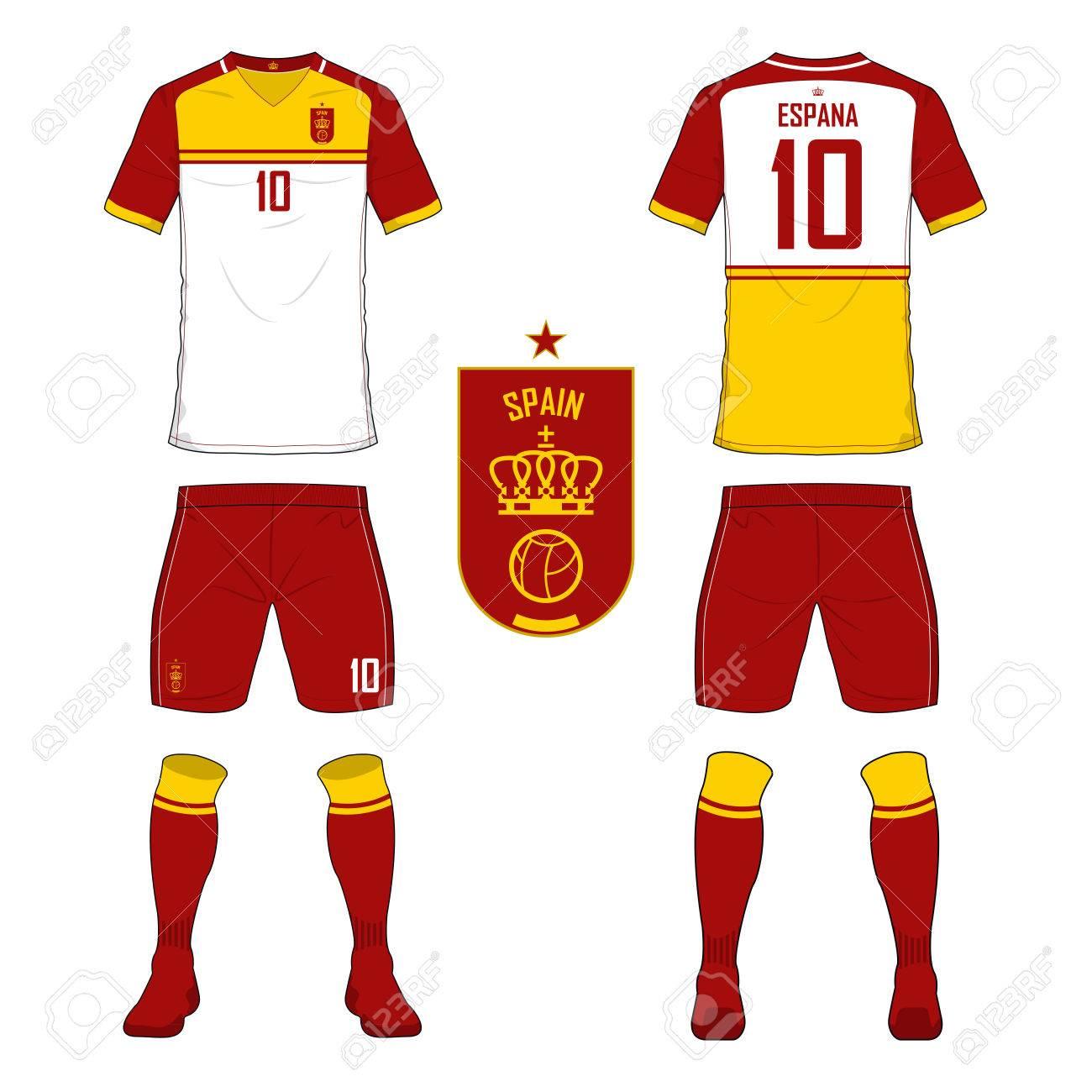 ensemble de maillot de foot ou d un mod le de kit de football pour l rh fr 123rf com clipart maillot de foot gratuit