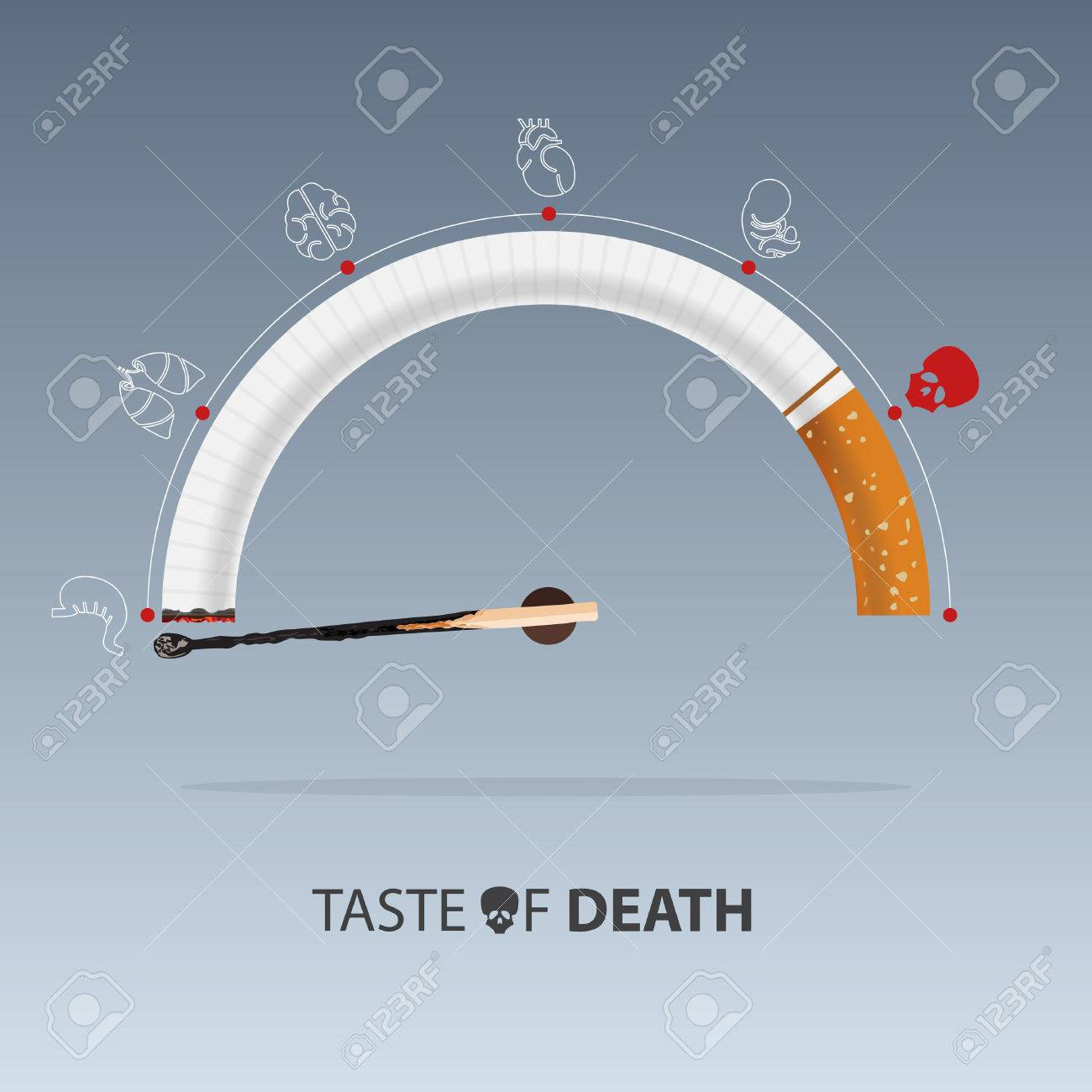 May 31st World No Tobacco Day. No Smoking Day Awareness. Stop Smoke Campaign. Vector Illustration. - 75994919