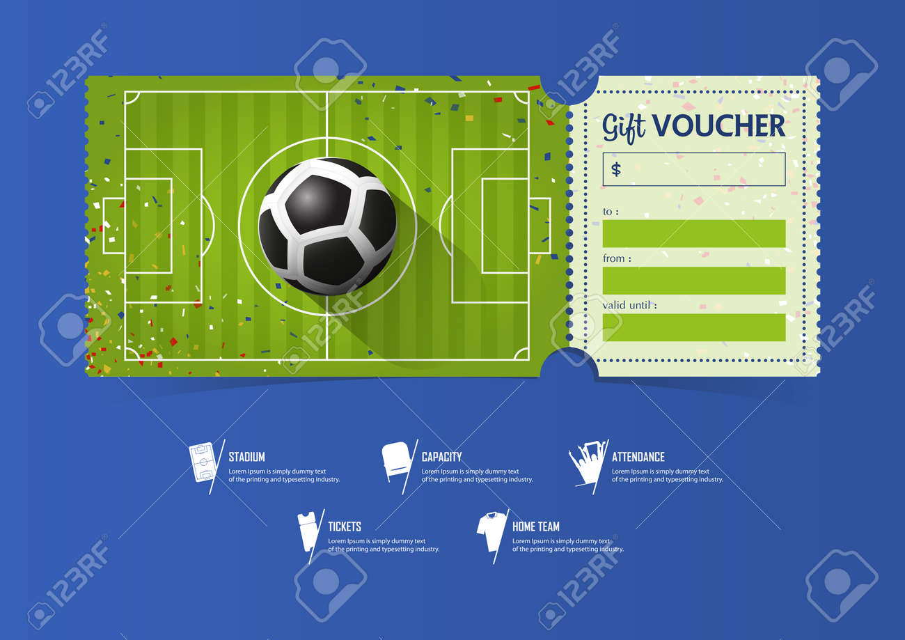 Soccer gift certificate templates | easy to use gift certificates.