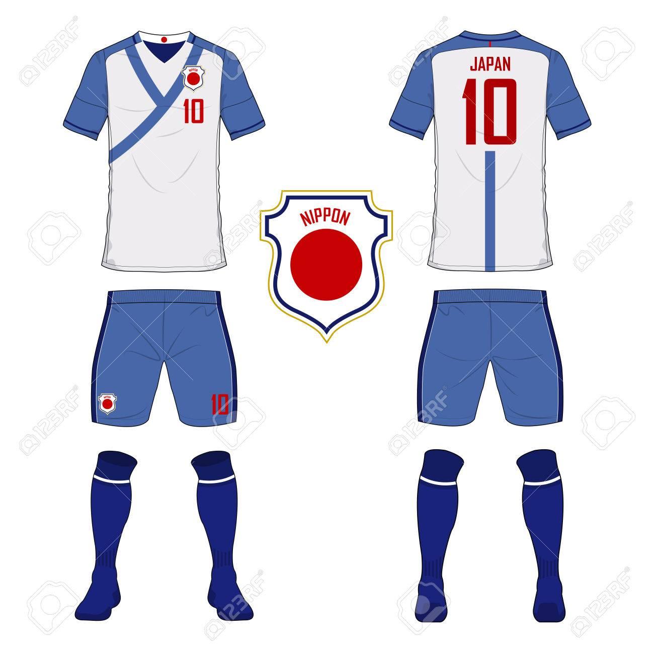 ensemble de maillot de foot ou un kit de football mod le pour le rh fr 123rf com