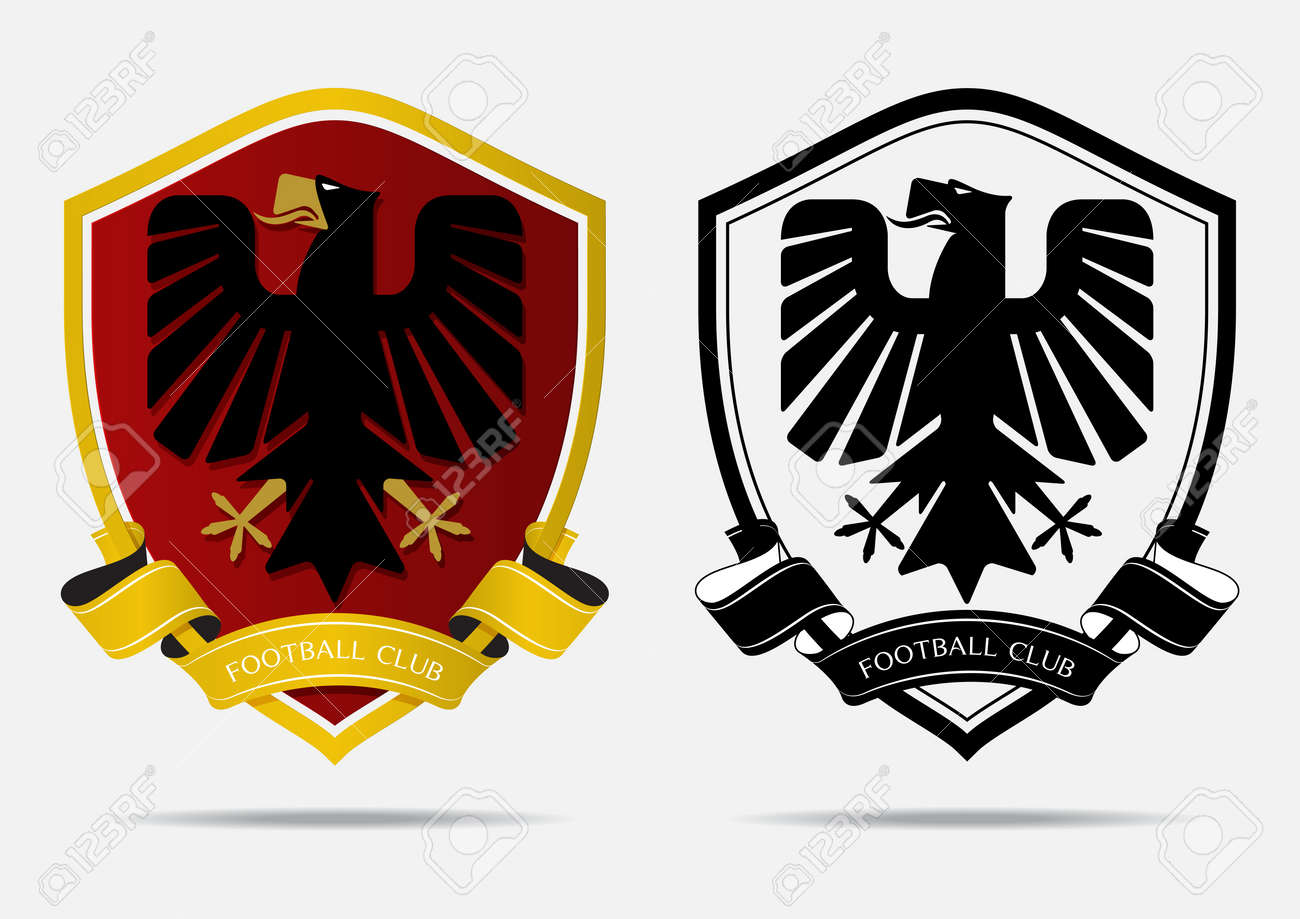 Set Of Soccer Football Badge Logo Design Template Sport Team Royalty Free Cliparts Vectors And Stock Illustration Image 85324722