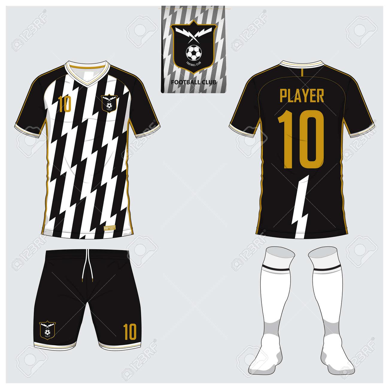 Sock Template | Soccer Jersey Or Football Kit Short Sock Template For Sport