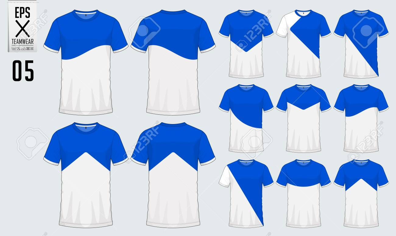 T Shirt Sport Design For Soccer Jersey Football Kit Or Sport Royalty Free Cliparts Vectors And Stock Illustration Image 90680503