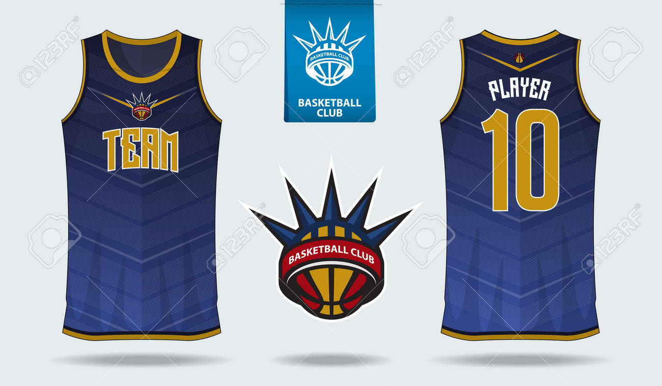 Basketball Uniform Or Sport Jersey Template For Basketball Club ...