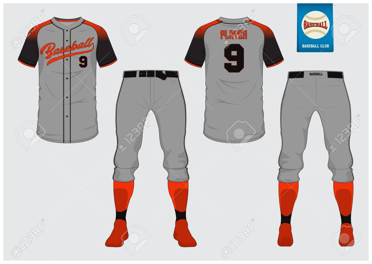 Baseball Jersey Sport Uniform Raglan T Shirt Sport Short