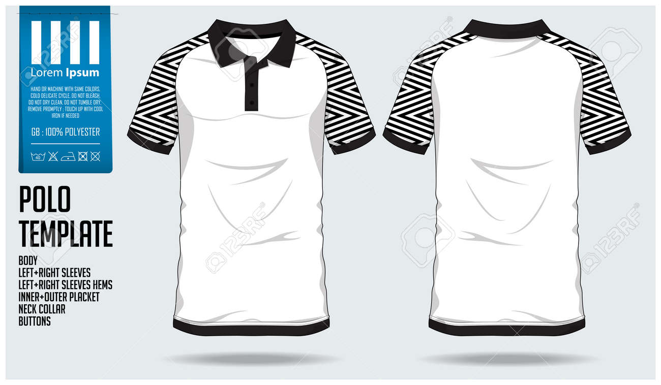 1d1f3d05f Polo t shirt sport design template for soccer jersey, football kit or sport  club.
