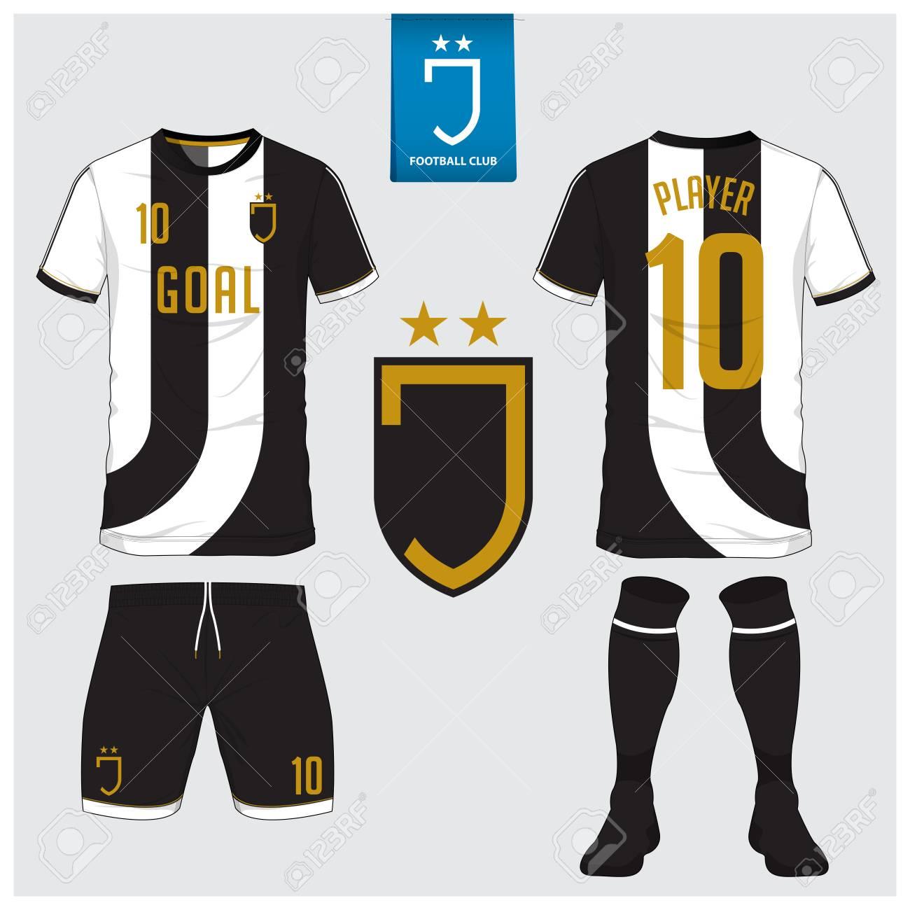 Soccer jersey, football kit, t-shirt sport, short, sock template