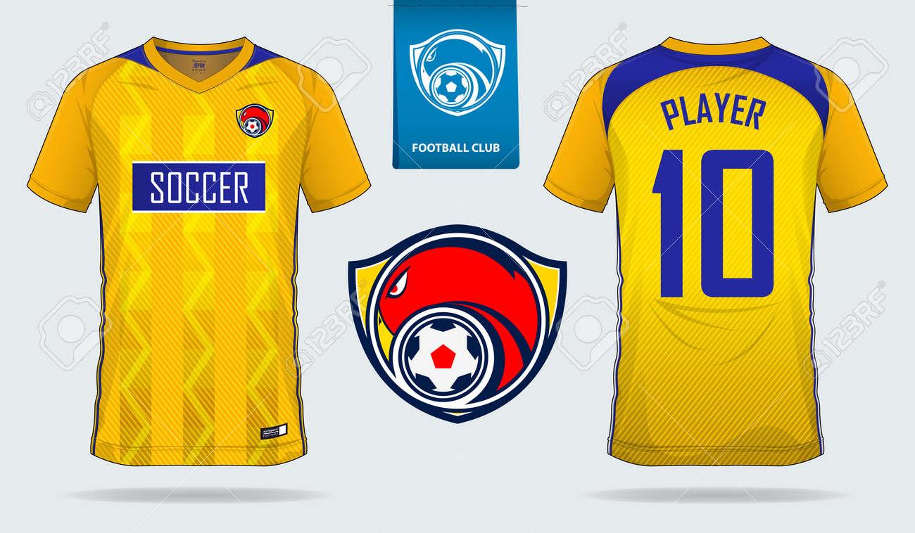 4098ce17f Yellow Soccer Jersey