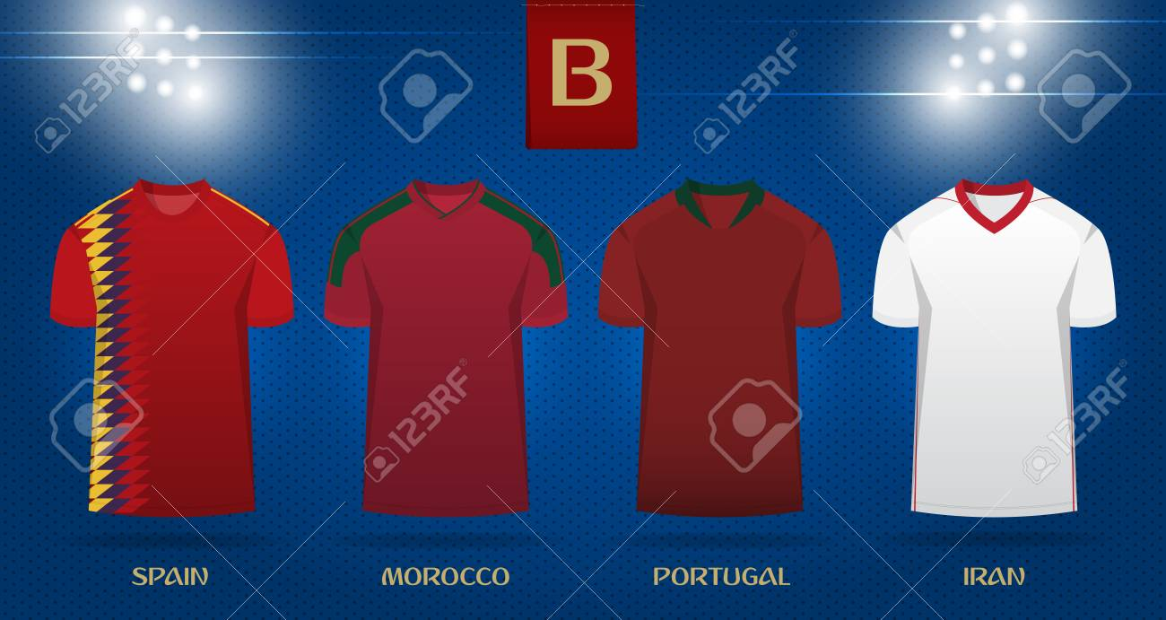 new style ce74d 526fb Soccer kit or football jersey template design for national football..