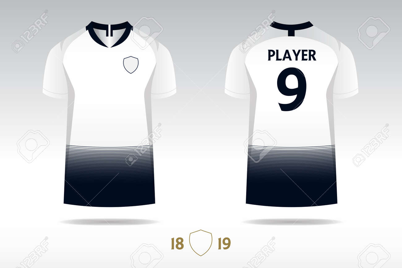 Soccer Jersey Football Kit T Shirt Sport Template Design For Royalty Free Cliparts Vectors And Stock Illustration Image 104413833