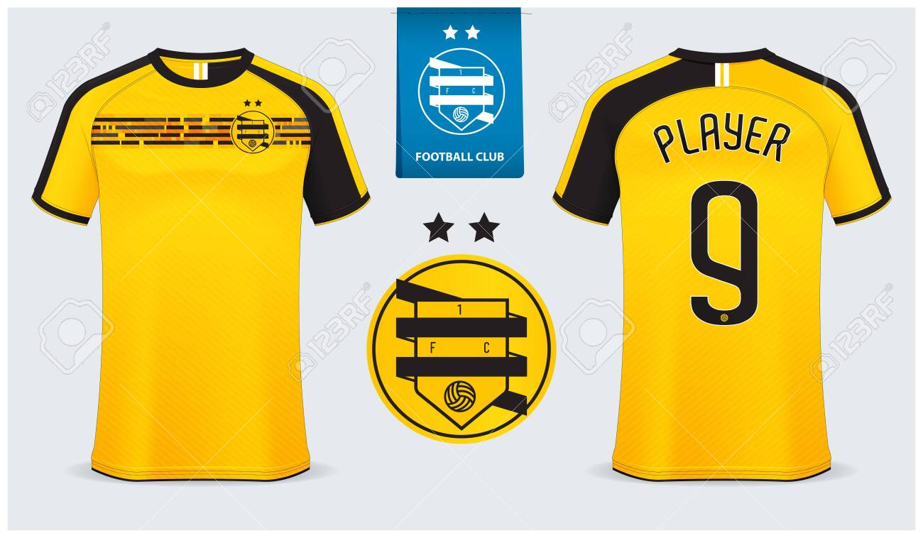 Soccer Jersey Football Kit Mockup Template Design For Sport Royalty Free Cliparts Vectors And Stock Illustration Image 132761345