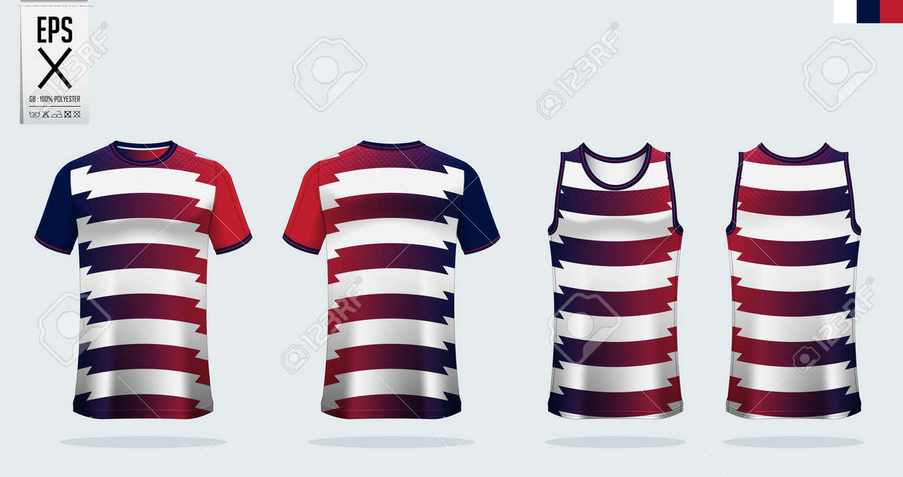 T Shirt Sport Mockup Template Design For Soccer Jersey Football Royalty Free Cliparts Vectors And Stock Illustration Image 140407231