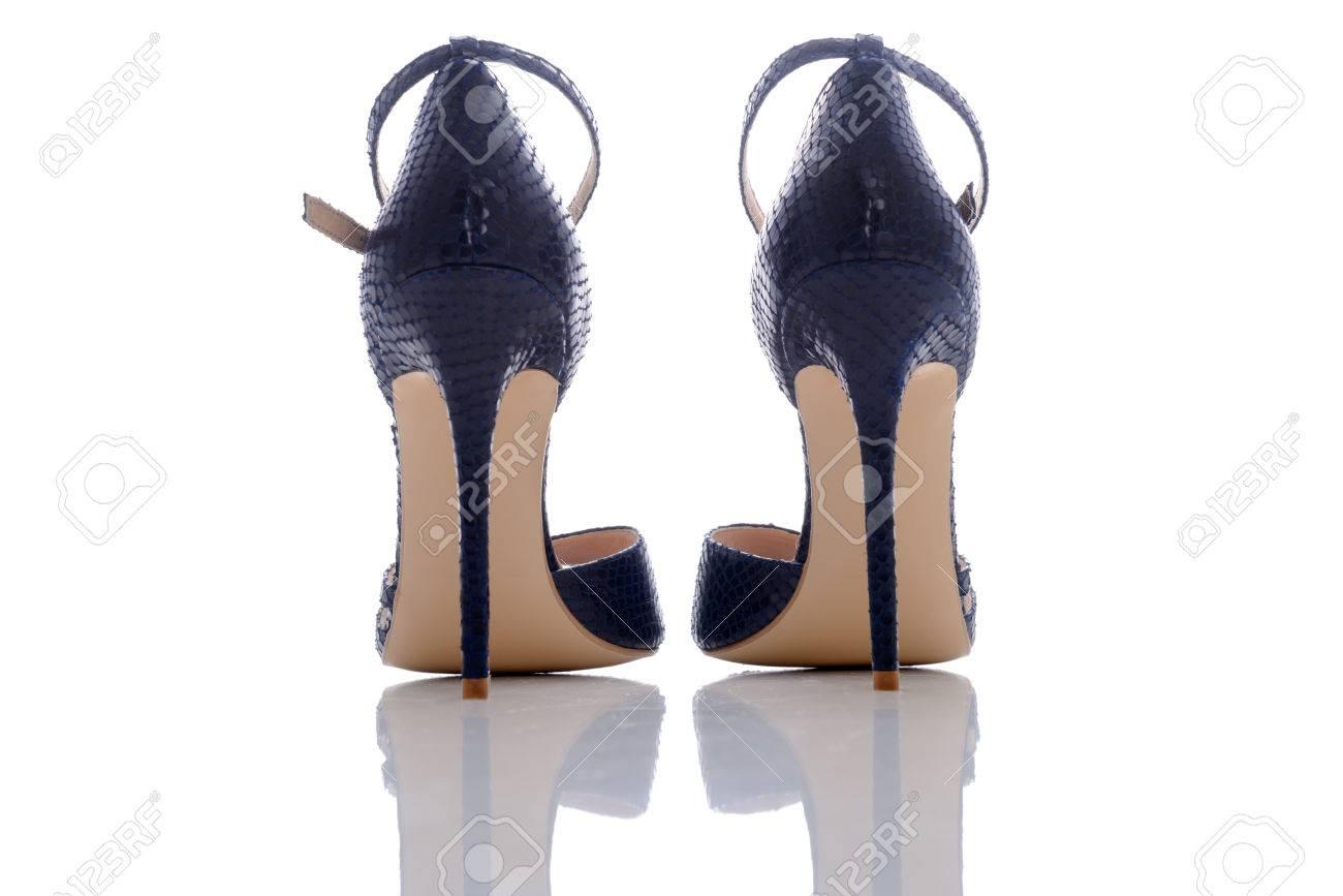 De Para Alto Sandalias Mujer Exquisitas Tacón Azules eDIE2bWH9Y