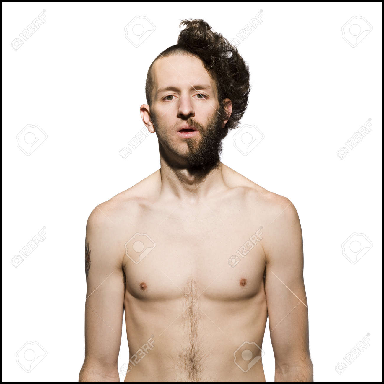 Picture of shaved male