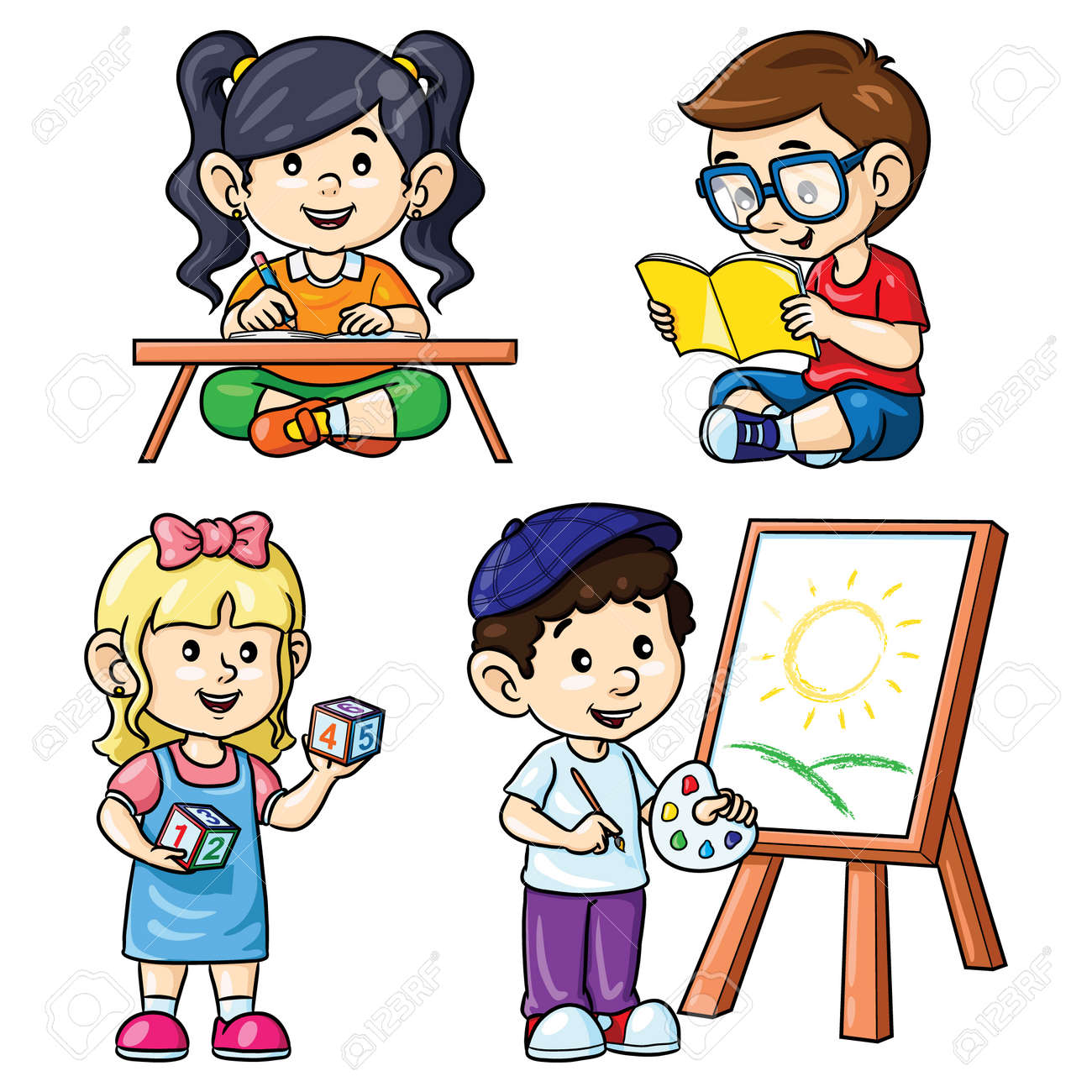 Letter a letter writing clipart clipartfest boy | Writing clipart, Kids  writing desk, Realistic fiction writing