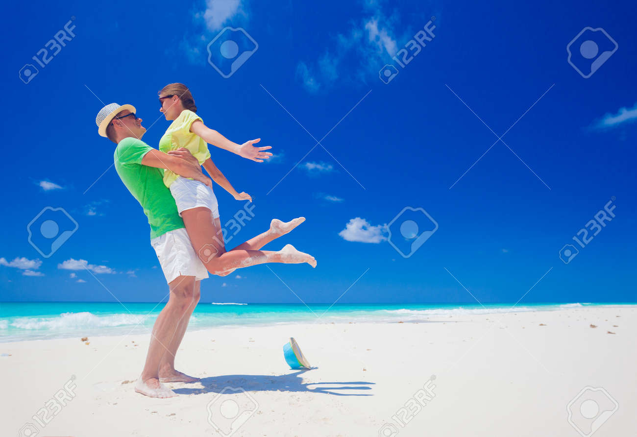 remote tropical beaches and countries. travel concept stock photo
