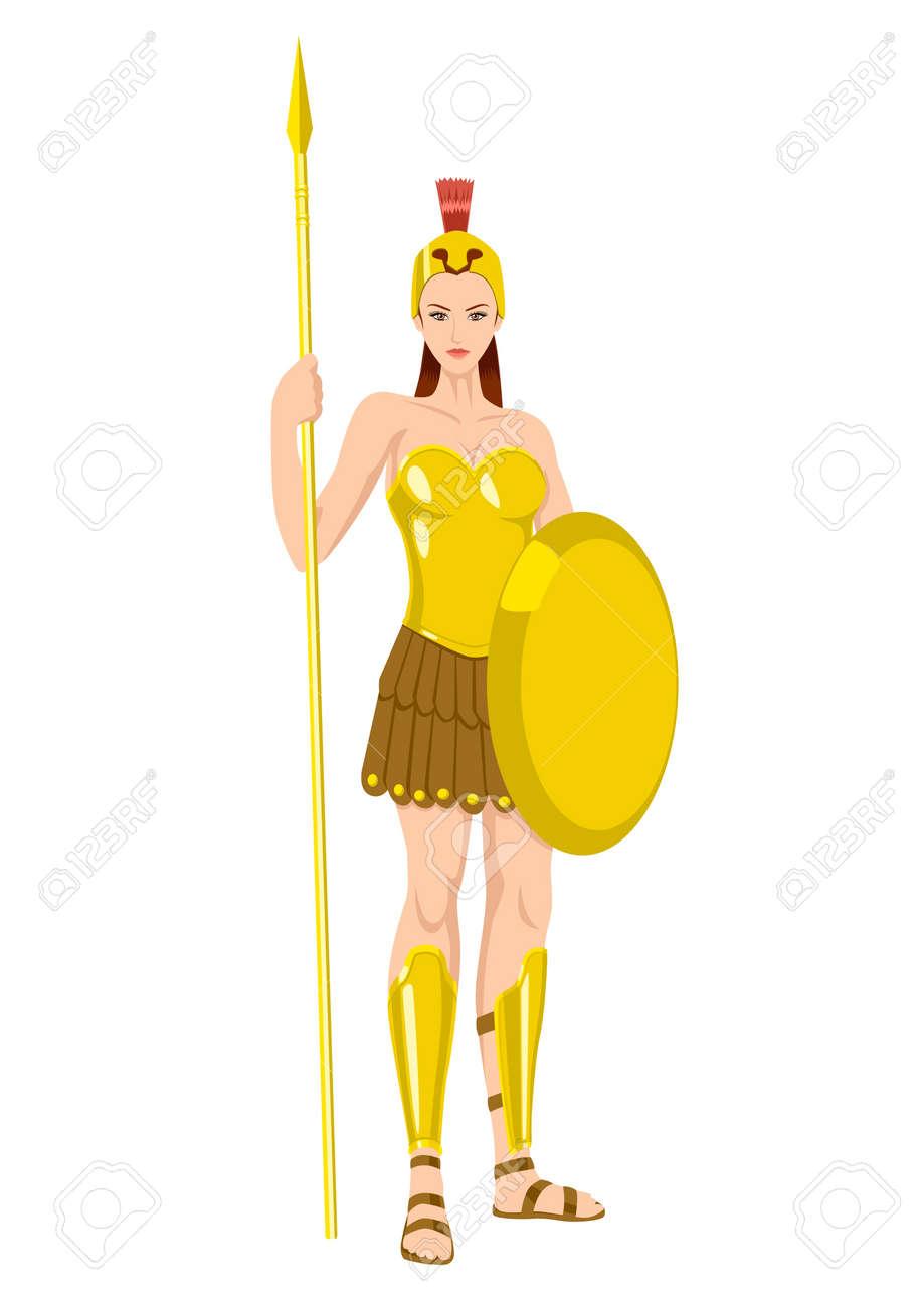athena the goddess of wisdom civilization warfare strength