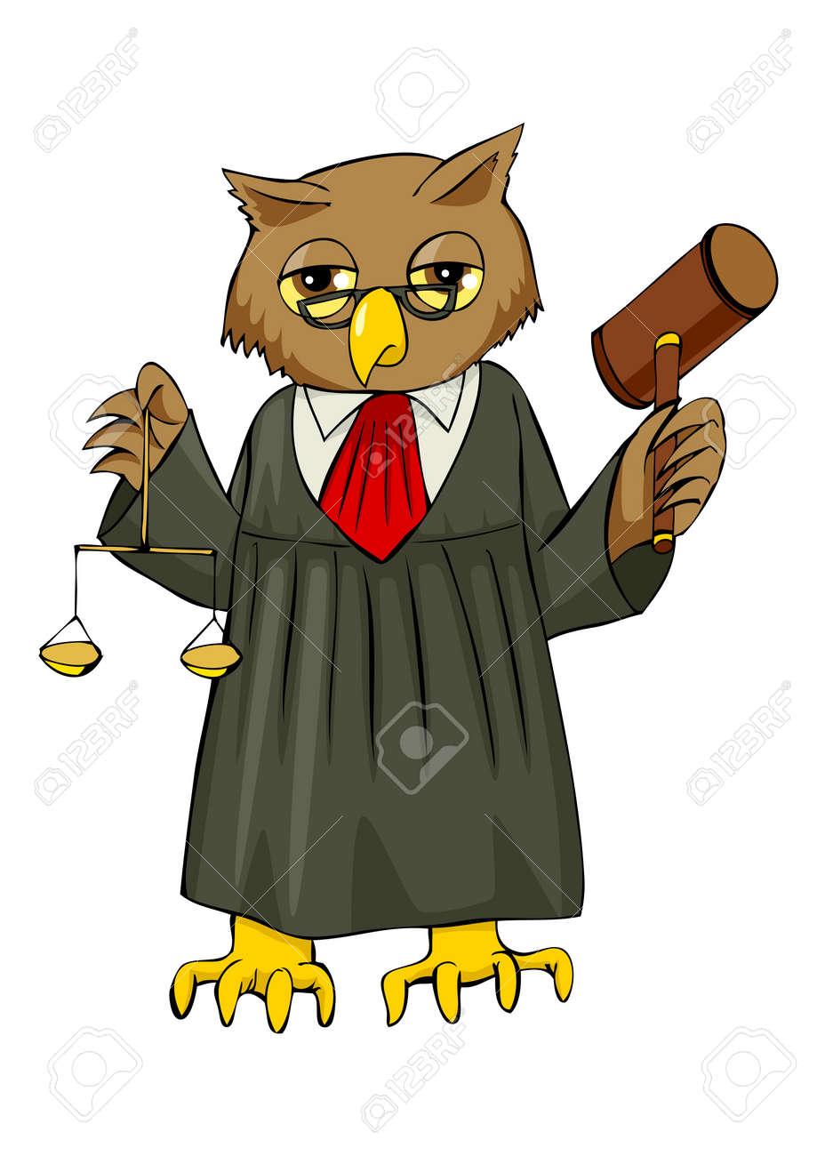 Risultati immagini per judge cartoon image
