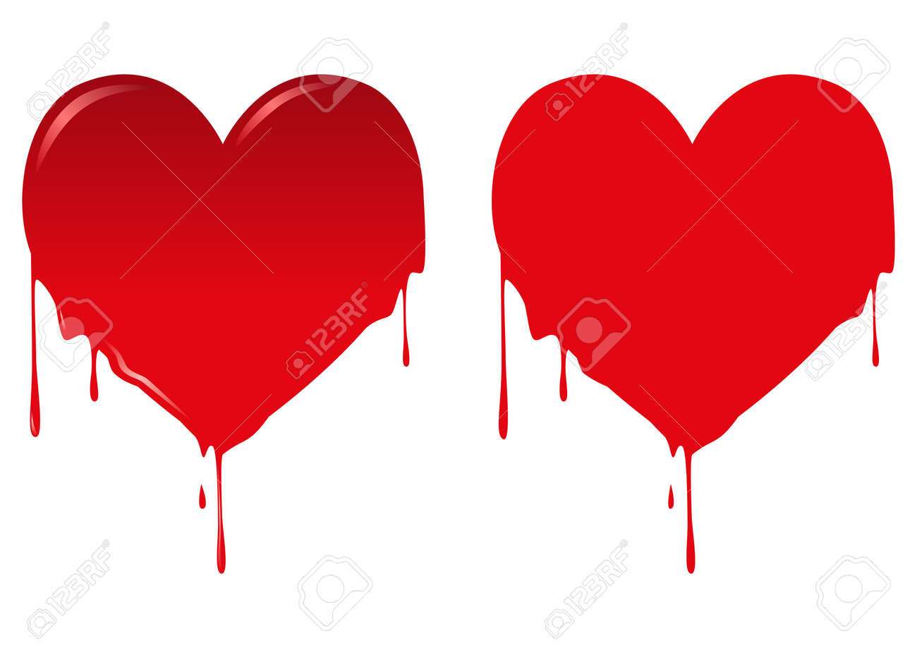 illustration of bleeding heart Stock Vector - 16620860
