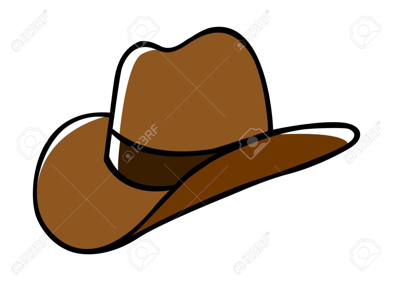 d96caedd2 Doodle illustration of a cowboy hat