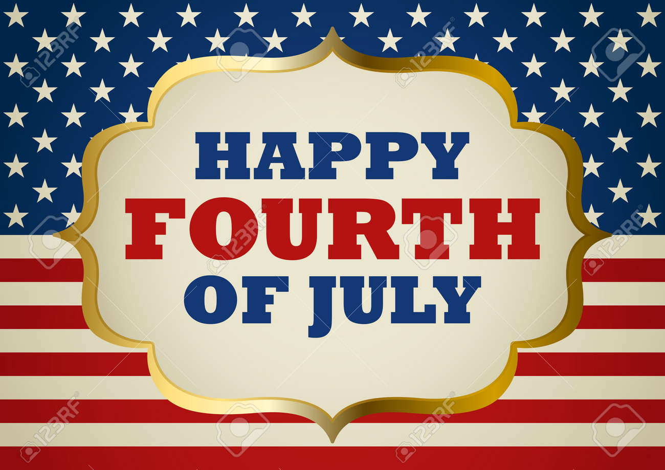 United States of America Fourth Of July symbol - 58217062