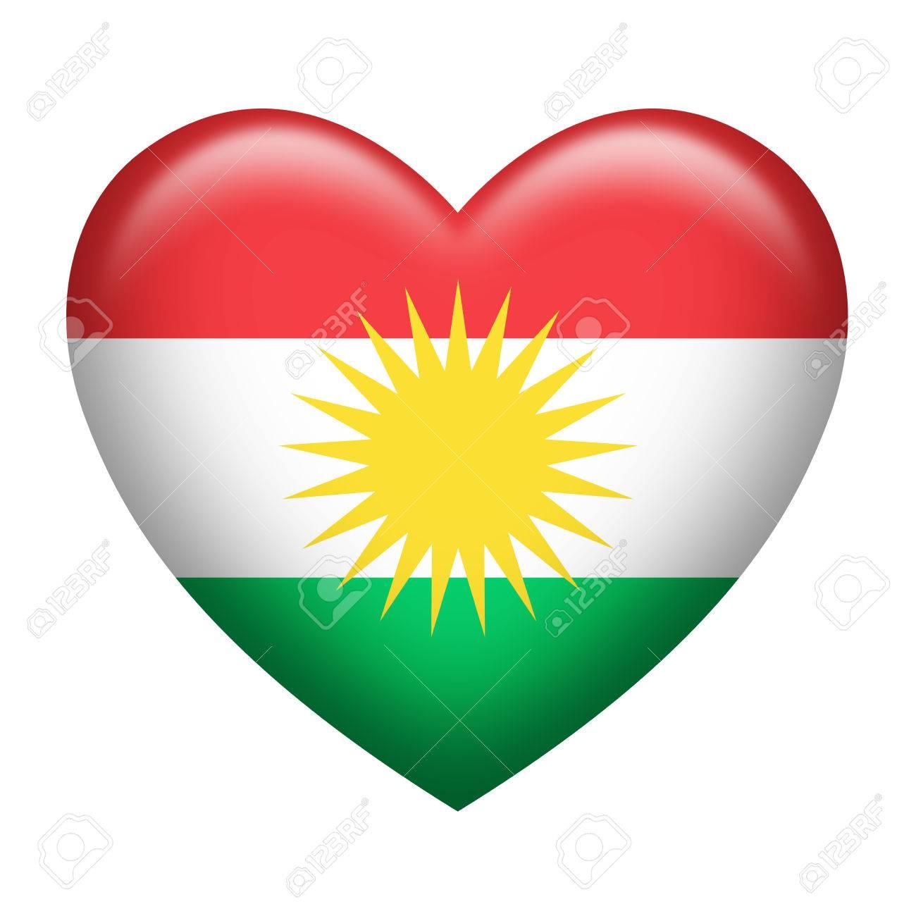 kurdische fahne