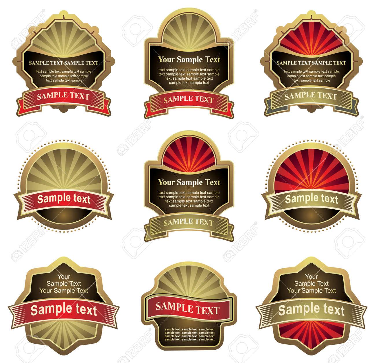 set of design elements Stock Vector - 4561224