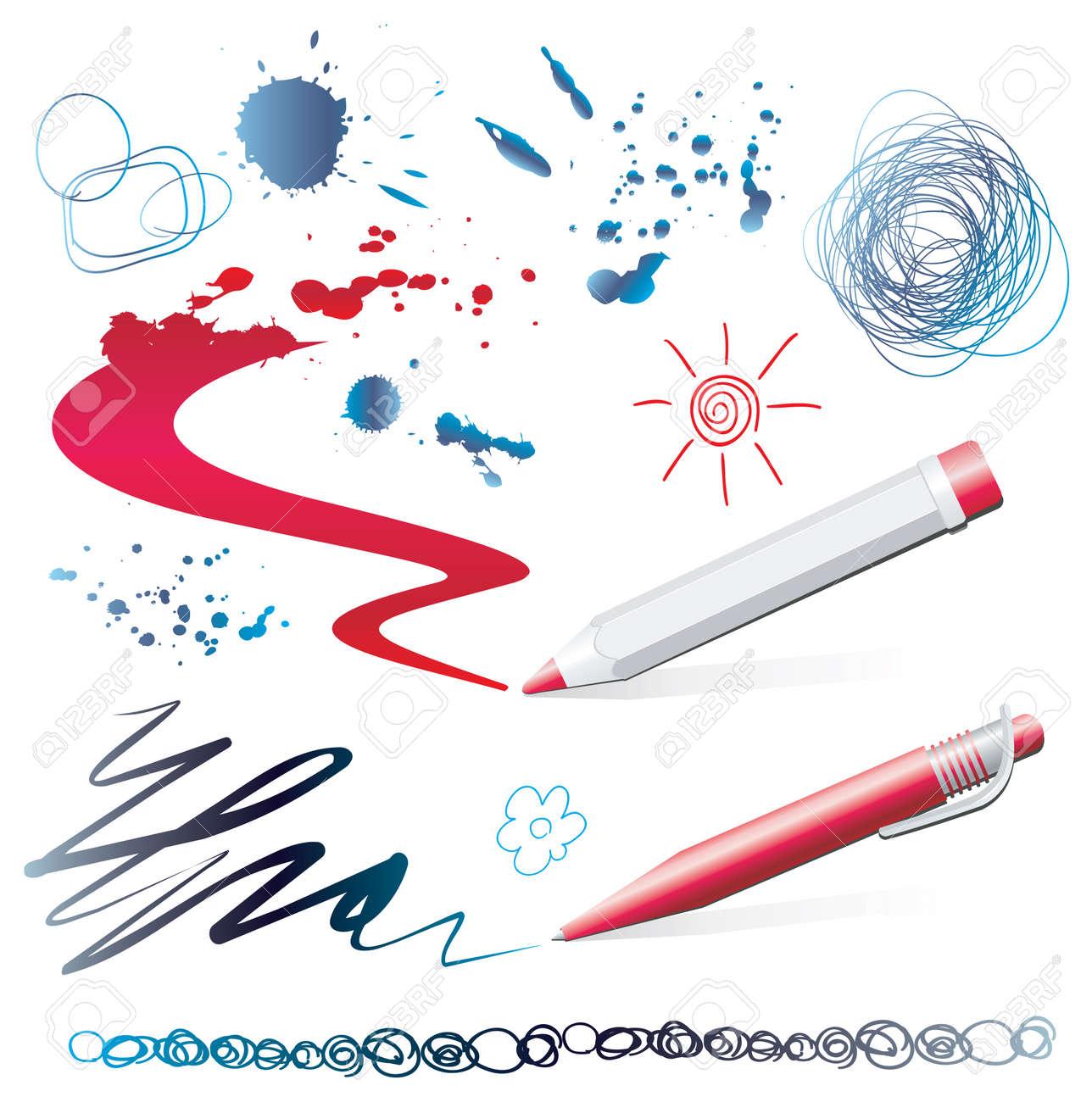 set of design elements Stock Vector - 6674303