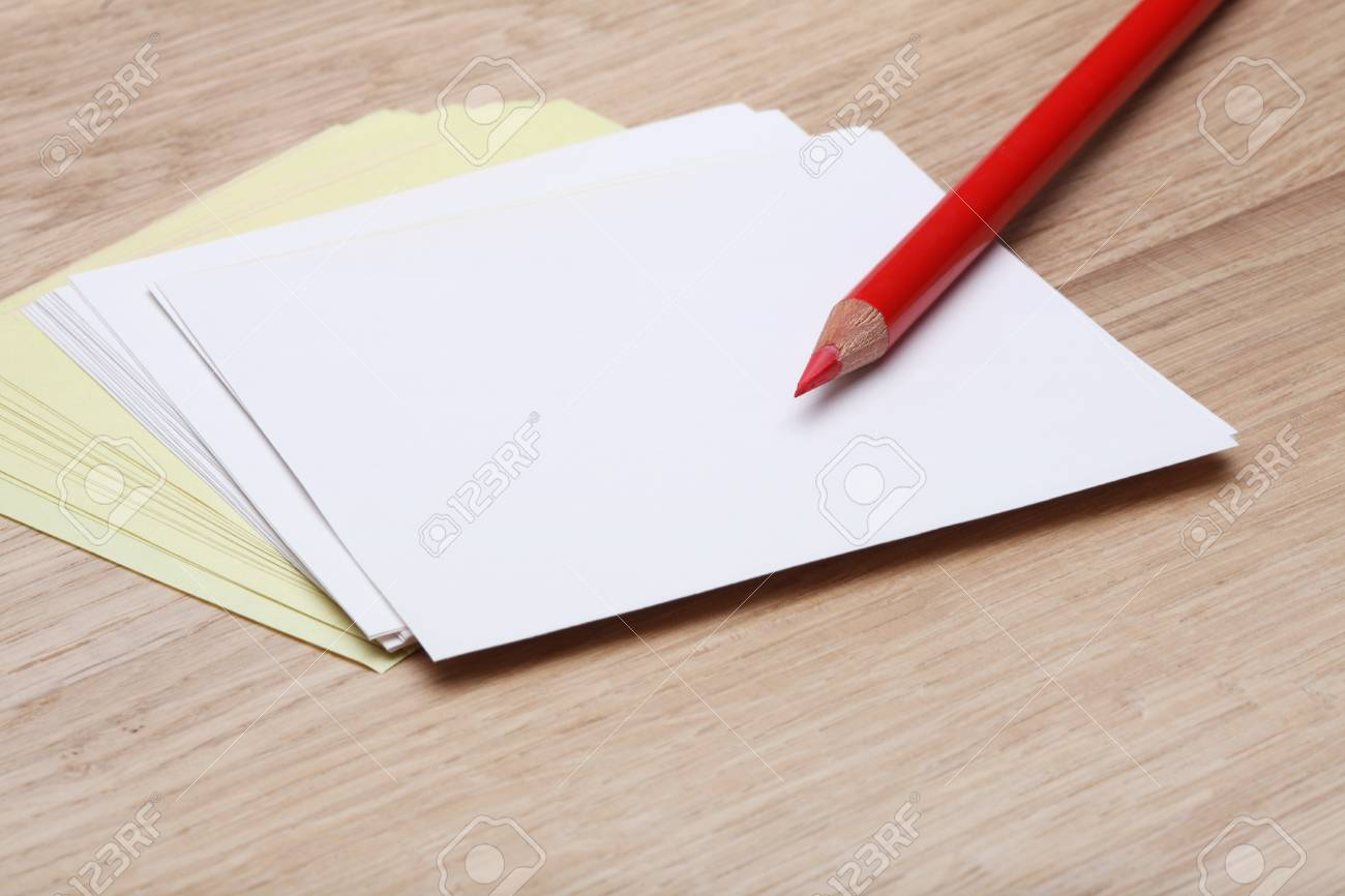 paper and pencil Stock Photo - 8355205