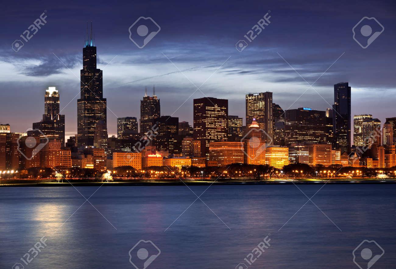 Chicago Skyline Stock Photo - 8679592