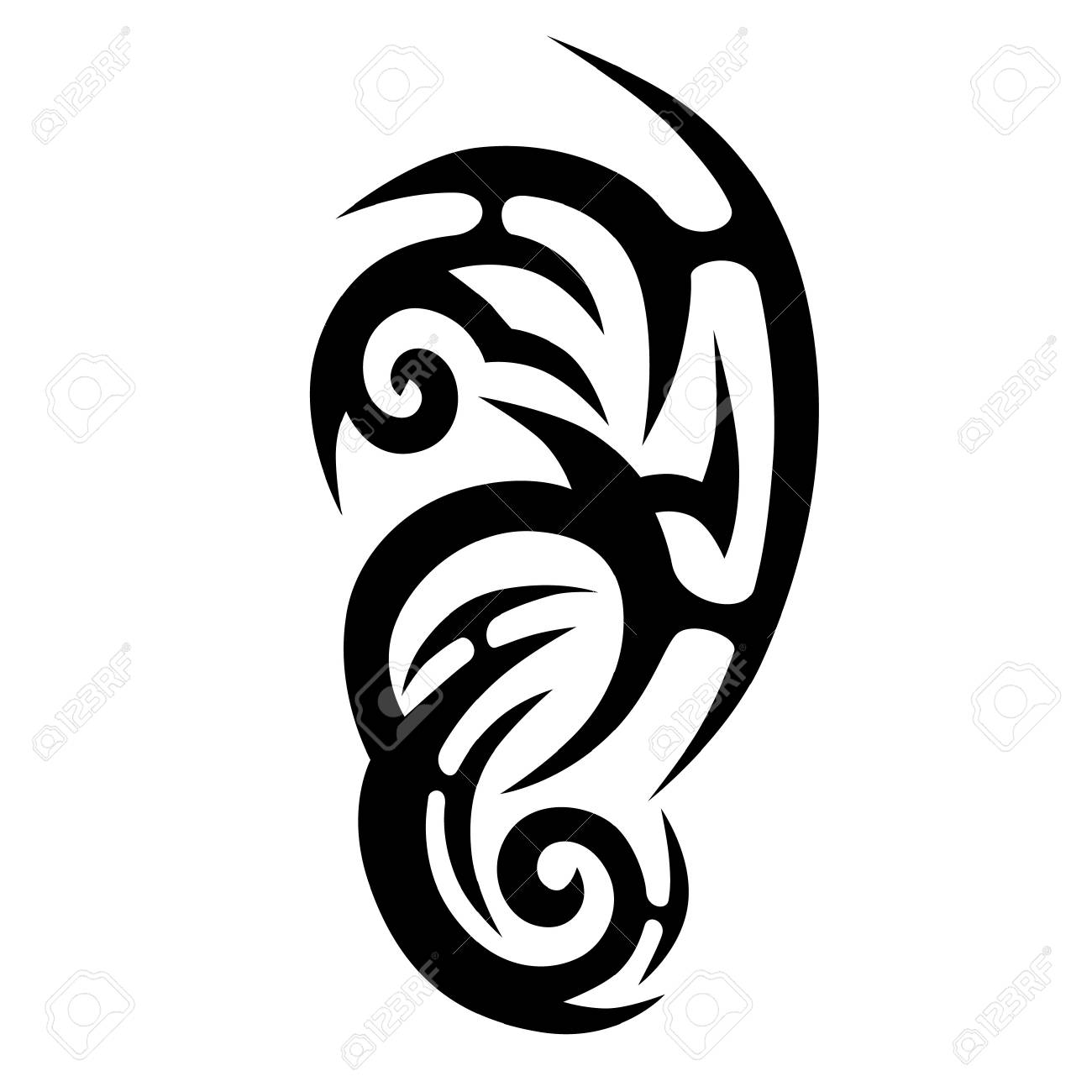 Tattoo Tribal Vector Designs Tribal Tattoos Art Tribal Tattoo Royalty Free Cliparts Vectors And Stock Illustration Image 74872736 From the collection of how is made here is a speed painting tattoo using adobe illustrator.this movie show you how we do our graphics from the. tattoo tribal vector designs tribal tattoos art tribal tattoo