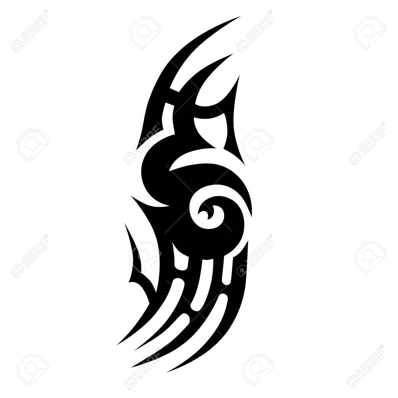 Diseños De Vectores Vintage Tatuajes Tribales Tatuaje Tribal Del