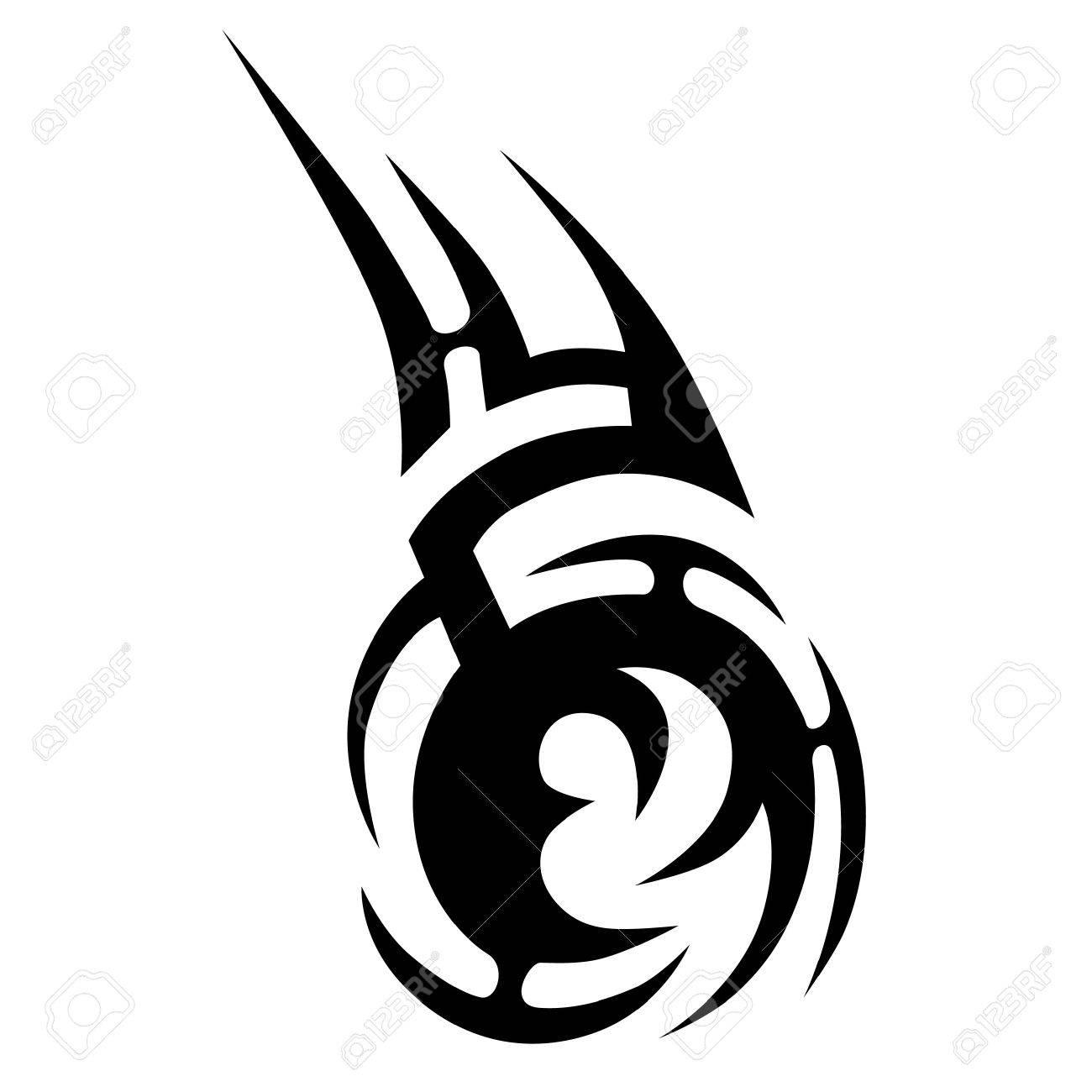Diseños Tribales Del Vector Del Tatuaje Tatuajes Tribales Tatuaje